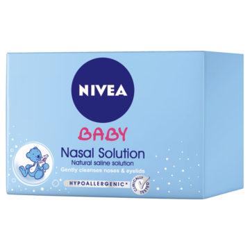 Nivea Baby raztopina za čiščenje noska, 24 ampul