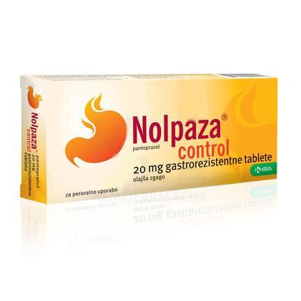 Nolpaza Control 20 mg gastrorezistentne tablete, 14 tablet