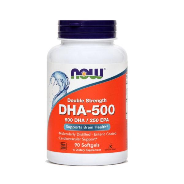 Now DHA-500, 90 mehkih kapsul