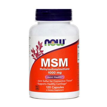 Now MSM 1000 mg kapsule, 120 kapsul