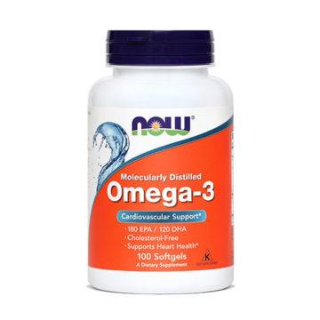 Now Omega-3 1000 mg, 100 kapsul