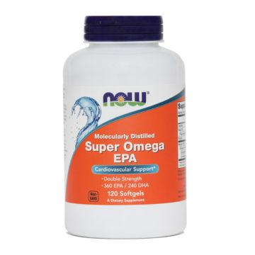 Now Super omega-3, 120 mehkih kapsul