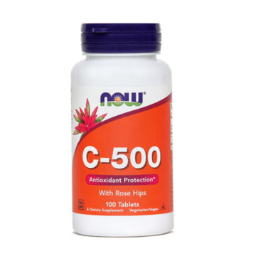 Now vitamin C 500 mg, 100 tablet