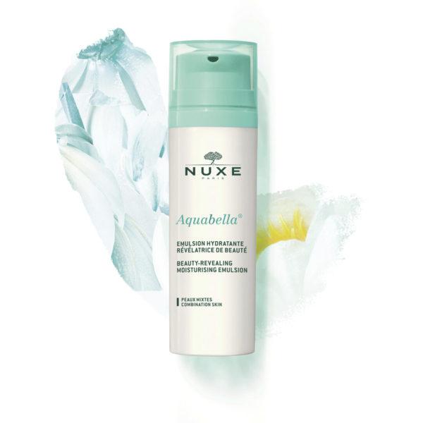 Nuxe Aquabella vlažilna emulzija za matiranje, glajenje in prikrivanje nepravilnosti, 50 ml