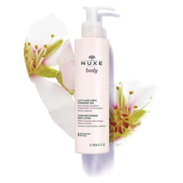 Nuxe Body 24-urno lahko vlažilno mleko za telo, 200 ml