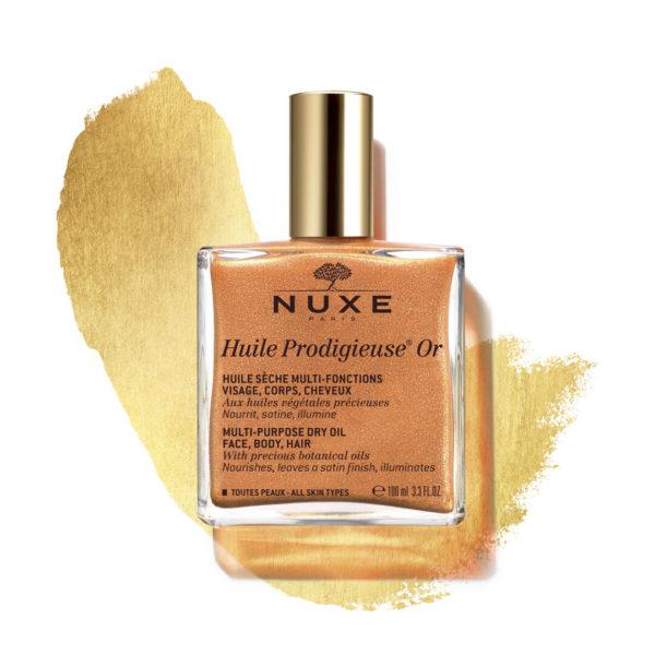 Nuxe Huile Prodigieuse OR suho olje z leskom za vsestransko uporabo, 100 ml