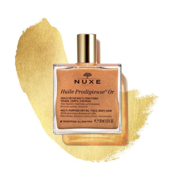 Nuxe Huile Prodigieuse OR suho olje z leskom za vsestransko uporabo, 50 ml
