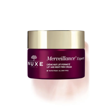 Nuxe Merveillance Expert nočna regeneracijska krema za glajenje vidnih gub, 50 ml