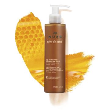 Nuxe Reve de Miel gel za čiščenje obraza in odstranjevanje ličil, 200 ml