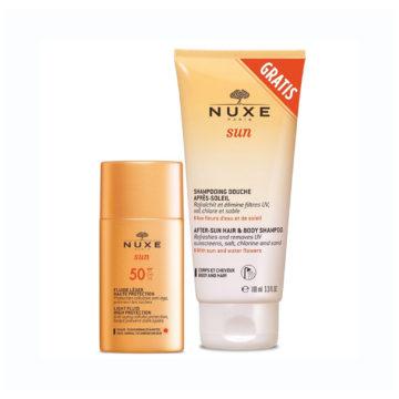 Nuxe Sun lahek fluid ZF50 +DARILO
