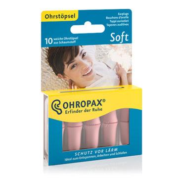 Ohropax Soft čepki za ušesa, 10 čepkov