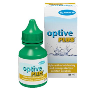 Optive Plus kapljice za suhe oči s trojnim delovanjem, 10 ml