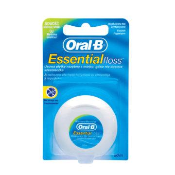 Oral-B Essential Floss zobna nitka mint 50 m, 1 kom