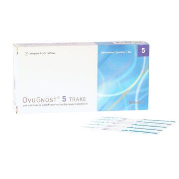 Ovugnost ovulacijski testni trakovi, 5 testov