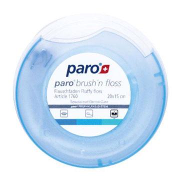 Paro Brush'n Floss zobna nitka 20 x 15 cm, 1 kom