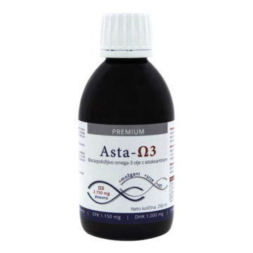 Premium Asta Omega-3, 250 ml