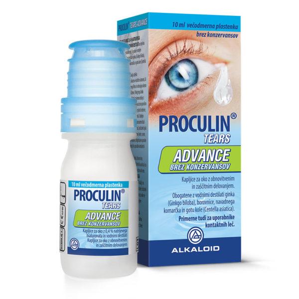 Proculin Tears Advance kapljice za oči, 10 ml