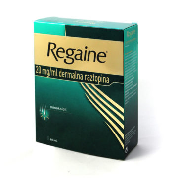 Regaine dermalna raztopina, 60 ml