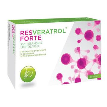 Resveratrol Forte 200 mg, 30 tablet