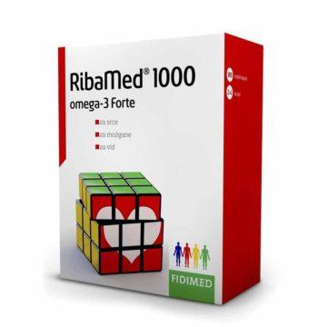Ribamed 1000 omega 3-Forte