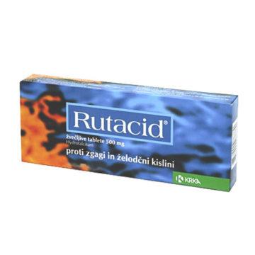 Rutacid 500 mg žvečljive tablete