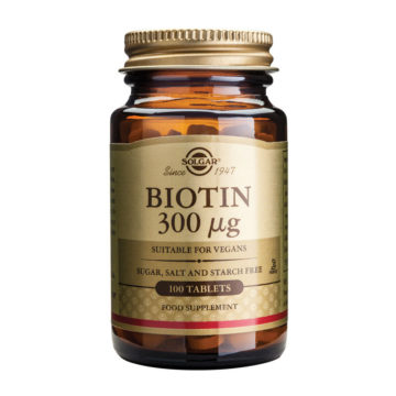 Solgar Biotin, 100 tablet