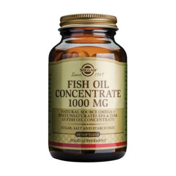 Solgar Koncentrat ribjega olja, 60 mehkih kapsul