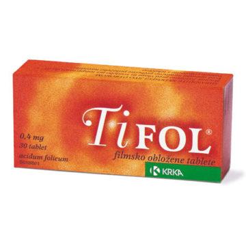 Tifol filmsko obložene tablete, 30 tablet