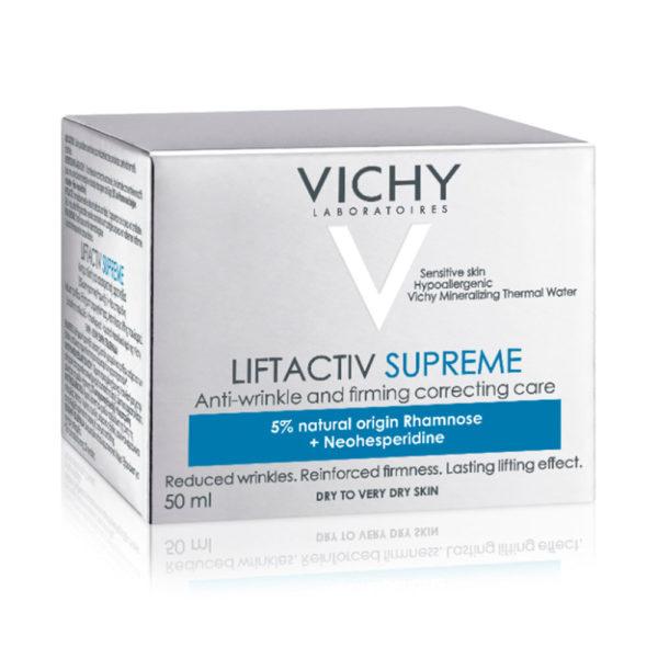 Vichy Liftactiv Supreme dnevna krema za suho kožo, 50 ml 02