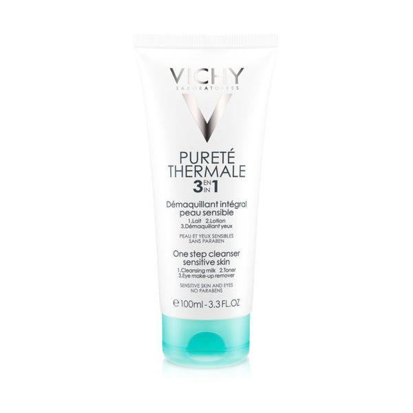 Vichy Pureté Thermale odstranjevalec ličil 3 v 1