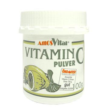 Vitamin C pulver Amos prašek, 100 g