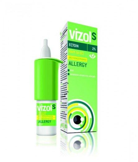 Vizol S Allergy kapljice za oči, 10 ml